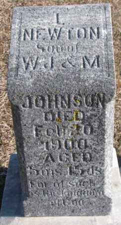 JOHNSON, L. NEWTON - Burt County, Nebraska | L. NEWTON JOHNSON - Nebraska Gravestone Photos