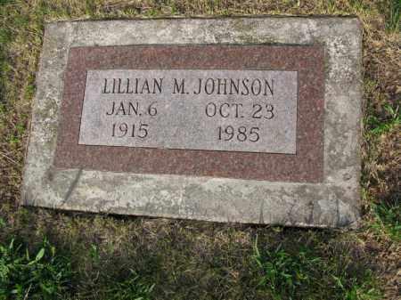 JOHNSON, LILLIAN M. - Burt County, Nebraska | LILLIAN M. JOHNSON - Nebraska Gravestone Photos