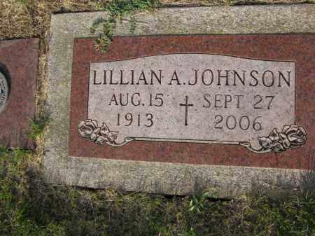JOHNSON, LILLIAN A. - Burt County, Nebraska   LILLIAN A. JOHNSON - Nebraska Gravestone Photos