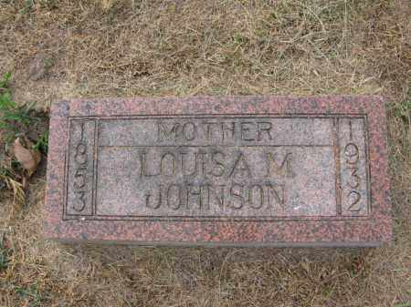 JOHNSON, LOUISA M. - Burt County, Nebraska | LOUISA M. JOHNSON - Nebraska Gravestone Photos