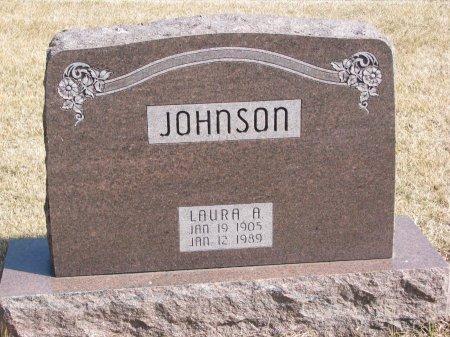 JOHNSON, LAURA A. - Burt County, Nebraska | LAURA A. JOHNSON - Nebraska Gravestone Photos