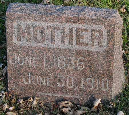 JOHNSON, MOTHER - Burt County, Nebraska   MOTHER JOHNSON - Nebraska Gravestone Photos