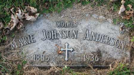 JOHNSON, MARIE - Burt County, Nebraska | MARIE JOHNSON - Nebraska Gravestone Photos