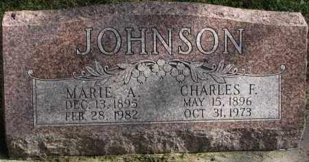 JOHNSON, CHARLES F. - Burt County, Nebraska   CHARLES F. JOHNSON - Nebraska Gravestone Photos