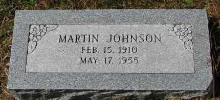 JOHNSON, MARTIN - Burt County, Nebraska | MARTIN JOHNSON - Nebraska Gravestone Photos