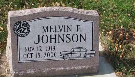 JOHNSON, MELVIN F. - Burt County, Nebraska   MELVIN F. JOHNSON - Nebraska Gravestone Photos