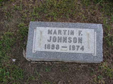 JOHNSON, MARTIN F. - Burt County, Nebraska | MARTIN F. JOHNSON - Nebraska Gravestone Photos