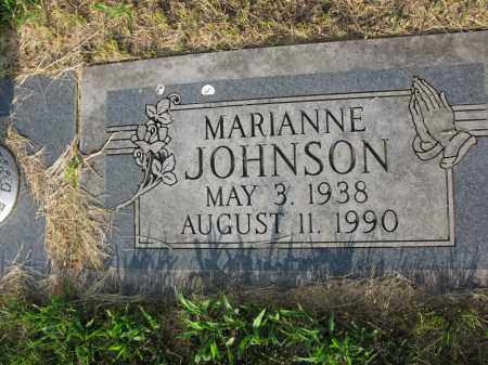 JOHNSON, MARIANNE - Burt County, Nebraska | MARIANNE JOHNSON - Nebraska Gravestone Photos