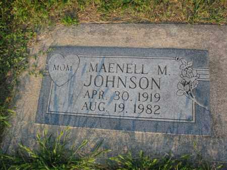 JOHNSON, MAENELL M. - Burt County, Nebraska | MAENELL M. JOHNSON - Nebraska Gravestone Photos