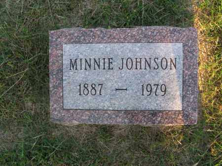 JOHNSON, MINNIE - Burt County, Nebraska | MINNIE JOHNSON - Nebraska Gravestone Photos