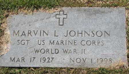 JOHNSON, MARVIN L. (MILITARY) - Burt County, Nebraska | MARVIN L. (MILITARY) JOHNSON - Nebraska Gravestone Photos
