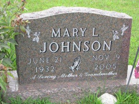 JOHNSON, MARY L. - Burt County, Nebraska | MARY L. JOHNSON - Nebraska Gravestone Photos