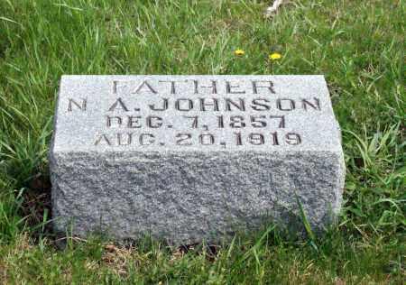 JOHNSON, N. A. - Burt County, Nebraska | N. A. JOHNSON - Nebraska Gravestone Photos
