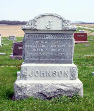 JOHNSON, NELS W. - Burt County, Nebraska | NELS W. JOHNSON - Nebraska Gravestone Photos
