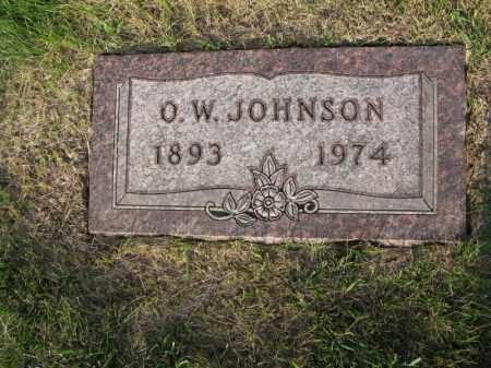 JOHNSON, O.W. - Burt County, Nebraska | O.W. JOHNSON - Nebraska Gravestone Photos