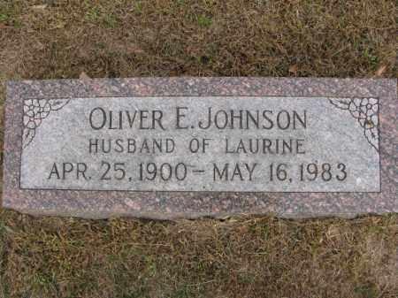JOHNSON, OLIVER E. - Burt County, Nebraska | OLIVER E. JOHNSON - Nebraska Gravestone Photos