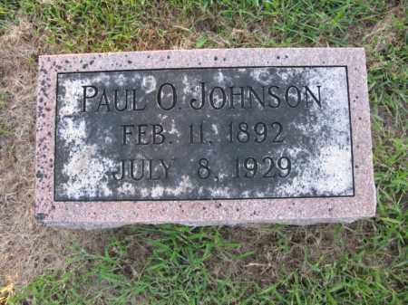 JOHNSON, PAUL O. - Burt County, Nebraska | PAUL O. JOHNSON - Nebraska Gravestone Photos
