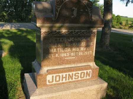 JOHNSON, MATILDA - Burt County, Nebraska   MATILDA JOHNSON - Nebraska Gravestone Photos