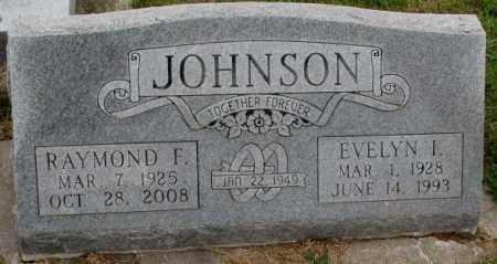 JOHNSON, EVELYN I. - Burt County, Nebraska | EVELYN I. JOHNSON - Nebraska Gravestone Photos