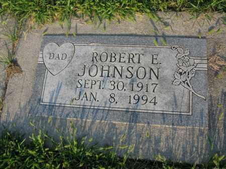 JOHNSON, ROBERT E. - Burt County, Nebraska | ROBERT E. JOHNSON - Nebraska Gravestone Photos