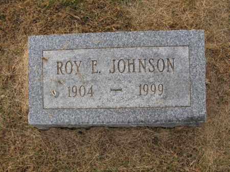 JOHNSON, ROY E. - Burt County, Nebraska | ROY E. JOHNSON - Nebraska Gravestone Photos