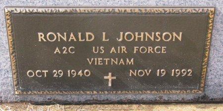 JOHNSON, RONALD L. - Burt County, Nebraska | RONALD L. JOHNSON - Nebraska Gravestone Photos