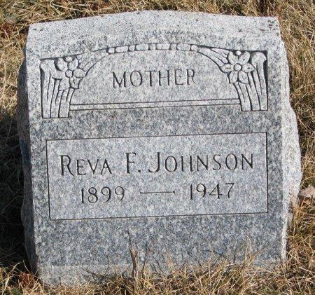 JOHNSON, REVA F. - Burt County, Nebraska   REVA F. JOHNSON - Nebraska Gravestone Photos