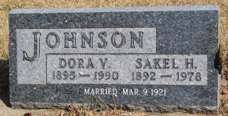 JOHNSON, DORA V. - Burt County, Nebraska | DORA V. JOHNSON - Nebraska Gravestone Photos