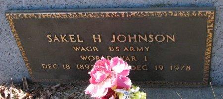 JOHNSON, SAKEL H. (MILITARY) - Burt County, Nebraska | SAKEL H. (MILITARY) JOHNSON - Nebraska Gravestone Photos