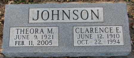 JOHNSON, THEORA M. - Burt County, Nebraska | THEORA M. JOHNSON - Nebraska Gravestone Photos