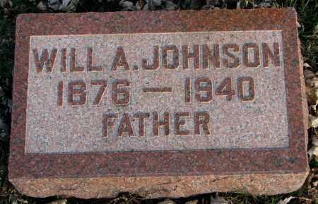 JOHNSON, WILL A. - Burt County, Nebraska   WILL A. JOHNSON - Nebraska Gravestone Photos