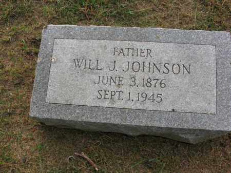 JOHNSON, WILL J. - Burt County, Nebraska | WILL J. JOHNSON - Nebraska Gravestone Photos