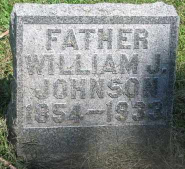 JOHNSON, WILLIAM J. - Burt County, Nebraska   WILLIAM J. JOHNSON - Nebraska Gravestone Photos