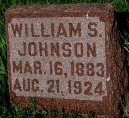 JOHNSON, WILLIAM S. - Burt County, Nebraska   WILLIAM S. JOHNSON - Nebraska Gravestone Photos
