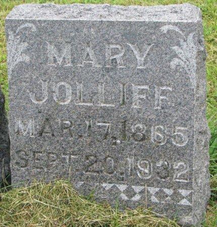 JOLLIFF, MARY - Burt County, Nebraska   MARY JOLLIFF - Nebraska Gravestone Photos