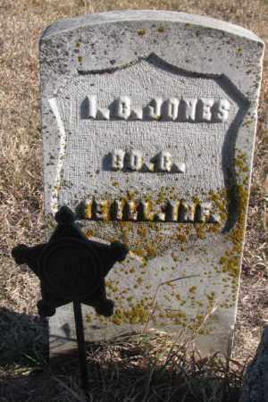 JONES, I.G. - Burt County, Nebraska | I.G. JONES - Nebraska Gravestone Photos