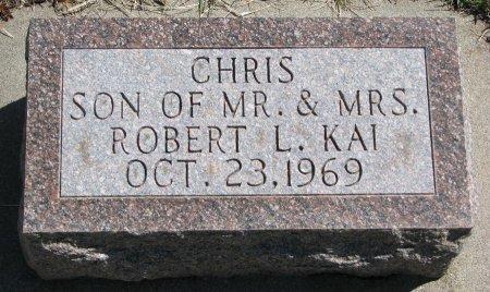 KAI, CHRIS - Burt County, Nebraska | CHRIS KAI - Nebraska Gravestone Photos