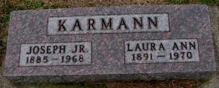 KARMANN, LAURA ANN - Burt County, Nebraska | LAURA ANN KARMANN - Nebraska Gravestone Photos