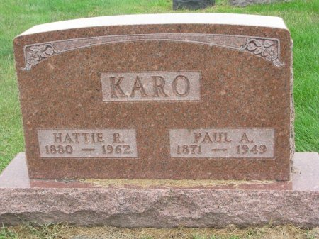 KARO, PAUL A. - Burt County, Nebraska | PAUL A. KARO - Nebraska Gravestone Photos