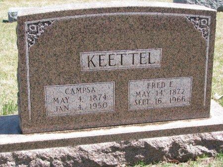 KEETTEL, CAMPSA - Burt County, Nebraska   CAMPSA KEETTEL - Nebraska Gravestone Photos