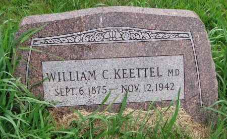KEETTEL, WILLIAM C. (M.D.) - Burt County, Nebraska | WILLIAM C. (M.D.) KEETTEL - Nebraska Gravestone Photos