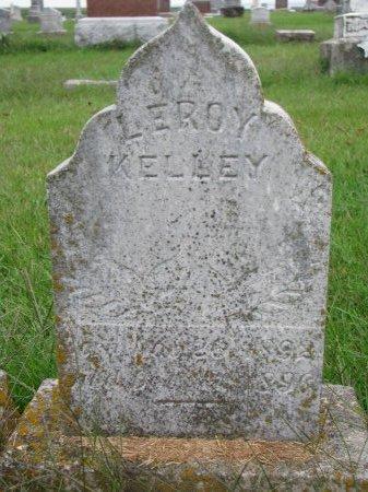 KELLEY, LEROY - Burt County, Nebraska | LEROY KELLEY - Nebraska Gravestone Photos