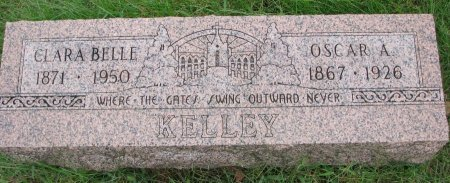 KELLEY, CLARA BELLE - Burt County, Nebraska | CLARA BELLE KELLEY - Nebraska Gravestone Photos
