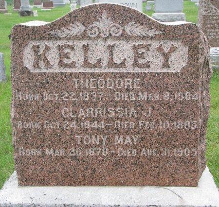KELLEY, CLARRISSIA J. - Burt County, Nebraska | CLARRISSIA J. KELLEY - Nebraska Gravestone Photos