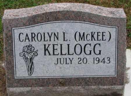KELLOGG, CAROLYN L. - Burt County, Nebraska | CAROLYN L. KELLOGG - Nebraska Gravestone Photos