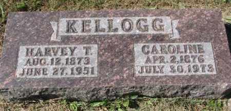 KELLOGG, HARVEY T. - Burt County, Nebraska | HARVEY T. KELLOGG - Nebraska Gravestone Photos
