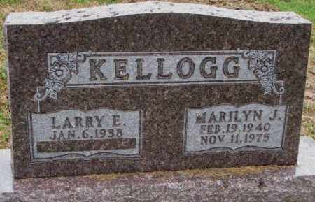 KELLOGG, MARILYN J. - Burt County, Nebraska | MARILYN J. KELLOGG - Nebraska Gravestone Photos