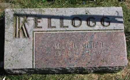 KELLOGG, MICHAEL E, - Burt County, Nebraska | MICHAEL E, KELLOGG - Nebraska Gravestone Photos