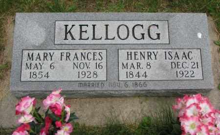 KELLOGG, HENRY ISAAC - Burt County, Nebraska | HENRY ISAAC KELLOGG - Nebraska Gravestone Photos