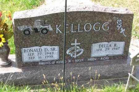KELLOGG, RONALD D. SR. - Burt County, Nebraska | RONALD D. SR. KELLOGG - Nebraska Gravestone Photos